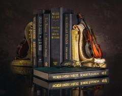Still Life, books (blair4bears) Tags: stilllife books