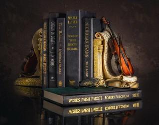 Still Life, books