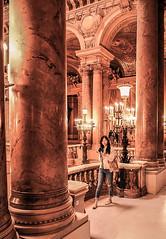 Opéra Garnier (christophe plc) Tags: paris opera garnier ville city girl picture image xt1 fujinon fijifilm japan 1655mm flickr photo xf1655mm interieur interior architecture france