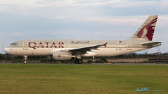 A7-ADI A320-232 Qatar Airways (kw2p) Tags: a320232 a7adi airbus aircraft airlineoperator airport aviation egpf qatarairways a320 airline aeroplane airplane kw2p gaaec glasgowairport egpfgla scotland