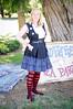 Sacramento Steampunk Society (GazerStudios) Tags: steampunk skirts blue red women blondes vests stripes aliceinwonderland costumes portraits tamron 1750mm nikond90