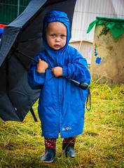 Tanya Burns - 2017 (nozstock) Tags: children kids rain umbrella wellingtons families