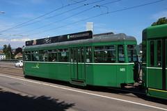 1471 (200er Serie) Tags: tram drämmli schienenfahrzeug bvb basler verkehrsbetriebe grün aw ffa altenrhein