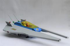 LL960 Supernova (GeekPerson) Tags: lego classic space spaceship future futuristic moc geekperson