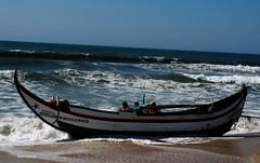 Praia da Leirosa (verridário) Tags: pesca sony praia beach atlantico ocean atlantique atlantic boat barco plage leirosa water sea pecheures pescatori