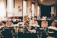 0916 (FestivitiesMN) Tags: corimillerphotograph polishnationalassociationhall december2016 newyearsevewedding organic winter wedding goldornament ornamentcenterpiece