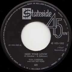 Don Gardner and Dee Dee Ford - Need your lovin'/Tell me 45rpm (oopswhoops) Tags: vinyl 45rpm soul dongardner stateside