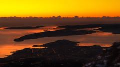 Sunset over the Split (Leonardo Đogaš) Tags: mosor split jadransko more adriatic sea solin čiovo dalmacija dalmatia hrvatska croatia sunset đogaš leonardo winter zalazak