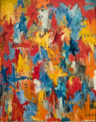 False Start, 1959 (Jonathan Lurie) Tags: oil painting 1959 art museums modern museum chicago johns aic institute jasper artinstituteofchicago artinstitute artmuseum artinmuseums jasperjohns modernart oilpainting illinois unitedstates us
