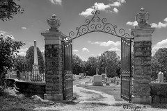 School St Cemetery (Bruce Livingston) Tags: cemetery asbury nj warrencounty bw blackwhite monochrome fujix100f
