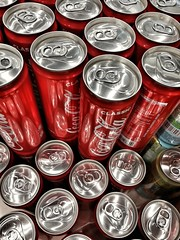 Coke also known as Coca Cola (tomquah) Tags: coke cocacola soda softdrinks cans metallic drinks thirsty tomquah fun red