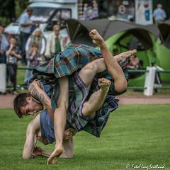 Backhold Wrestlers (FotoFling Scotland) Tags: argyll dunoon event highlandgames scotland cowalgathering scottish fotoflingscotland