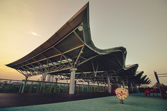 Rooftop at Marina South Pier (michelletanjw) Tags: rooftop marinasouthpier marina pier singapore playground architecture