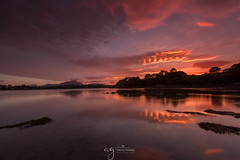 Muckish sunset & reflections (Pastel Frames Photography) Tags: muckishreflections sunset codonegal incredible sky colours clouds perfect water canon5dmark3 canon1635mm travelphotography travel sightseeing landscape landscapephotography beauty beautiful ireland