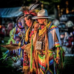 _DSC3270 Lineup (Explored) (Charles Bonham) Tags: saginawchippewatribalpowwow powwow people indigenous sunsetlight indiandrum indian portrait light goldenhour summer sonya7rll sonyfe70200f4goss charlesbonhamphotography hss sun dreamcatcher