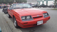 1986 Ford Mustang LX Convertible (Foden Alpha) Tags: ford mustang foxbody convertible b22972 lx