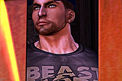 Beast (allenfire99) Tags: save little room your heart for me love secondlife sl second life flame