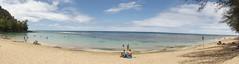 Kauai Beach (artofjonacuna) Tags: kauai beach hawaii panoramic sand ocean sky