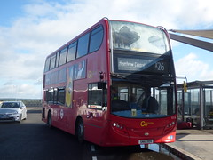 The Airbus E218 (londonbusexplorer) Tags: goahead london adl enviro 400 e218 sn61ddx x26 croydon heathrow m25 diversion ride prudential 2017 tfl buses lost