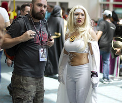 White Queen (San Diego Shooter) Tags: comiccon cosplay portrait sandiego comiccon2017 sdcc sdcc2017 streetphotography comicconcostumes costume whitequeen
