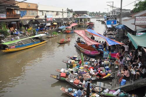 marché flottant amphawa - thailande 19