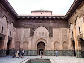 Morocco_madrasa_medersa_Youssef_Marrakech-7