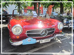 Mercedes-Benz 190 SL (v8dub) Tags: mercedes benz 190 sl convertible cabrio cabriolet schweiz suisse switzerland german pkw voiture car wagen worldcars auto automobile automotive old oldtimer oldcar klassik classic collector