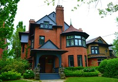 T. Albert Brown House .... 181 Crescent Road .... Toronto, Ontario (Greg's Southern Ontario (catching Up Slowly)) Tags: house oldhouse tudorrevival talbertbrownhouse 181crescentroad rosedale architecture torontoarchitecture