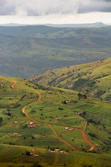 Endless Valley (MacMyc) Tags: za afrika africa swaziland swazi exterior outdoors nature wild wildness mountain valley lookout mountaintop landscape mbabane sobantu piggspeak morning green lightroom canon700d