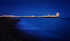 The Whirlygig at the end of the Pier (Langstone Joe) Tags: whirlygig bluehour brighton pier longexposure