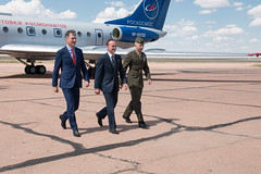 Expedition 52-53 Prime Crew (NASA Johnson) Tags: russia kazakhstan astronaut cosmonaut roscosmos europeanspaceagency nasa esa russianfederalspaceagency