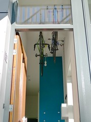 henry-hallway-bike-lift-2 (@WorkCycles) Tags: bicycle bike ceiling fiets fietsen hall henry home lift plafond projects stalling storage workcycles