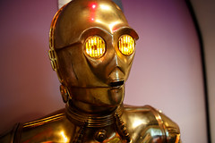 Chances of survival are 725 to 1 (ranzino) Tags: c3po carnegiesciencecenter pa pittsburgh robot starwars droid protocoldroid pennsylvania unitedstates us