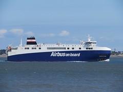Airbus ship (emilyD98) Tags: st saint nazaire bateau boat ship chantier naval port airbus avion plane estuaire de la loire atlantique stx montoir donges