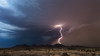 Ahead of the Haboob (Mike Olbinski Photography) Tags: 20170715 arizona canon1740f4l canon5dmarkiv duststorm haboob interstate8 lightning mountains rain shelfcloud stormchasing thunderstorm