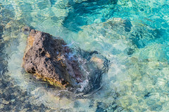 Clear Water (A & A McKee) Tags: rock water sea clear blue beautiful summer crete greece nikon dslr d500 85mm 18