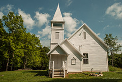 Ebbing and Flowing Springs United Methodist Church (Back Road Photography (Kevin W. Jerrell)) Tags: churches christianity methodist rogersville tennessee historic daysgoneby nikond60 rural backroadphotography countryroads countrychurches chapels