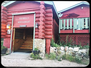 Potbelly Restaurant, Red Feather Lakes, Colorado