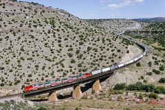 Perfect A-B-B-A, Abo Canyon, NM (thechief500) Tags: atsf bnsf railroads santaferailway atchisontopekaandsantafe abocanyon nm newmexico
