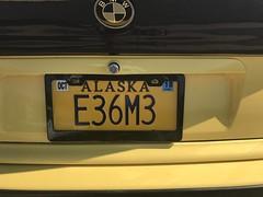 E36M3 (Jeff Weissman Photography) Tags: license plates