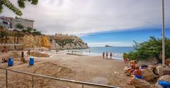 (447/17) Playa de Mal Pas (Pablo Arias) Tags: pabloarias photoshop photomatix nxd españa cielo nubes arquitectura playa arena mar agua mediterráneo islabenidorm alicante comunidadvalenciana