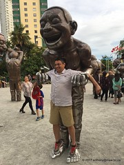 A Maze Ing Laughter English Bay sculptures (anthonymaw) Tags: vancouver canada art sculpture culture tourism