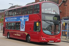 National Express West Midlands Volvo B7TL/Wright Eclipse Gemini 4500 (BJ03 EXK) (Acocks Green) (john-s-91) Tags: nationalexpresswestmidlands volvob7tl wrighteclipsegemini 4500 bj03exk solihull route73 smartwater20172