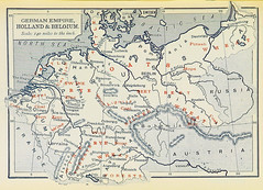 German Products (sjrankin) Tags: illustration map historic 20july2017 edited library britishlibrary commerce products minerals mining economy germany germanempire