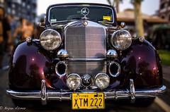 50's BENZ (Glendale Cruise Night) (bryanasmar) Tags: mercedes benz cruise night glendale ca leica m240 digital 352 asph summicron car show