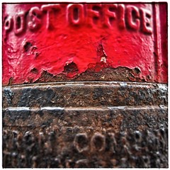 Day 201 - Post Box (DenisePhoto1) Tags: postbox red colour contrast photoadayproject photoadaychallenge photoproject photoaday photochallenge july 366july project365 365photochallenge 365photoproject 365photoadaychallenge 365photoadayproject 365photoaday 365challenge 365project 365photo 365 201365 day201