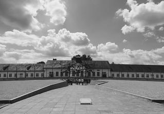 Maintenance building, Dachau Concentration Camp