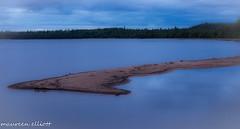 Sandbar (maureen.elliott) Tags: sandbar twilight lake sand ontarioprovincialparks evening water stillness landscape longexposure 7dwf