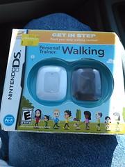 Walmart bargain bin find. (cpd2005) Tags: nintendo ds personal trainer walking bargain bin walmart july 2017 pedometer set
