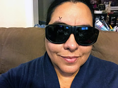 365 Day 174 6/23 Lasik Day (TMLizzy Irwin) Tags: glasses tina selfportrait lasik righteyelasik visioncorrection letitgo noregrets june2017 365x10